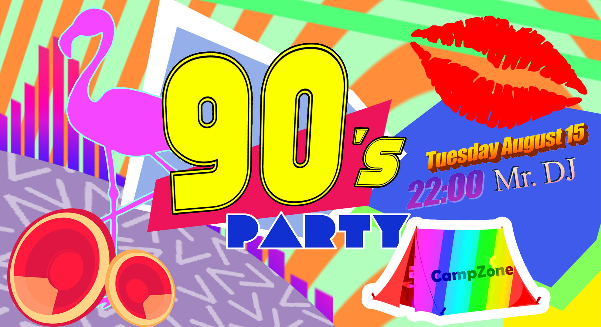 CampZone 90s Party