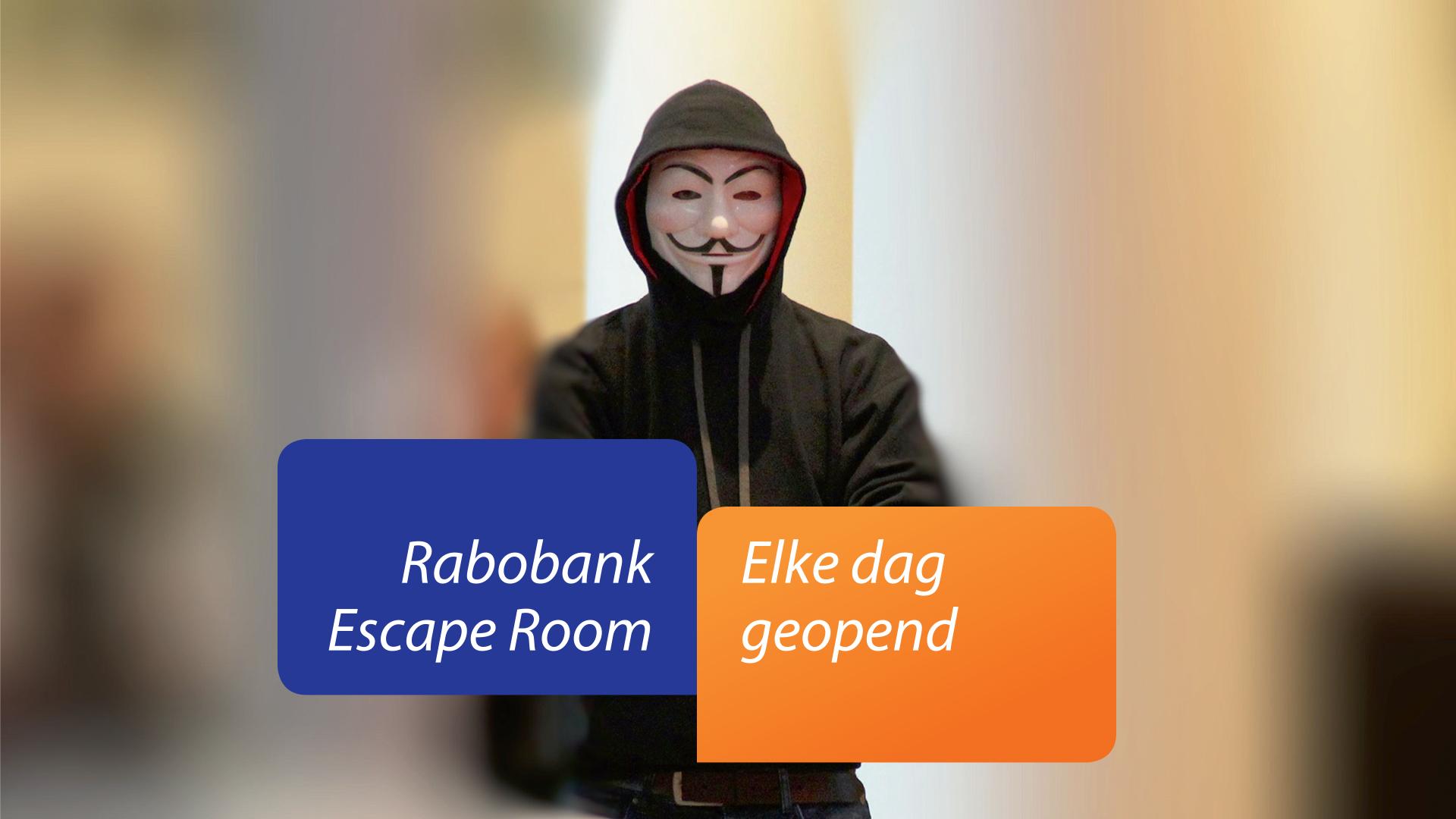Rabobank Escape Room