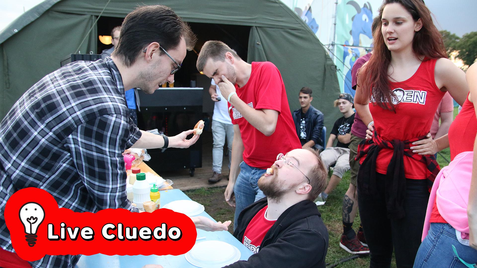 20:00 - Live Cluedo