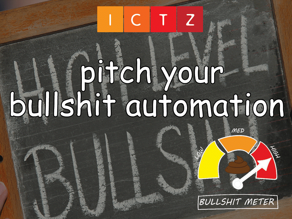 16:00 - Pitch Your Bullshit Automation
