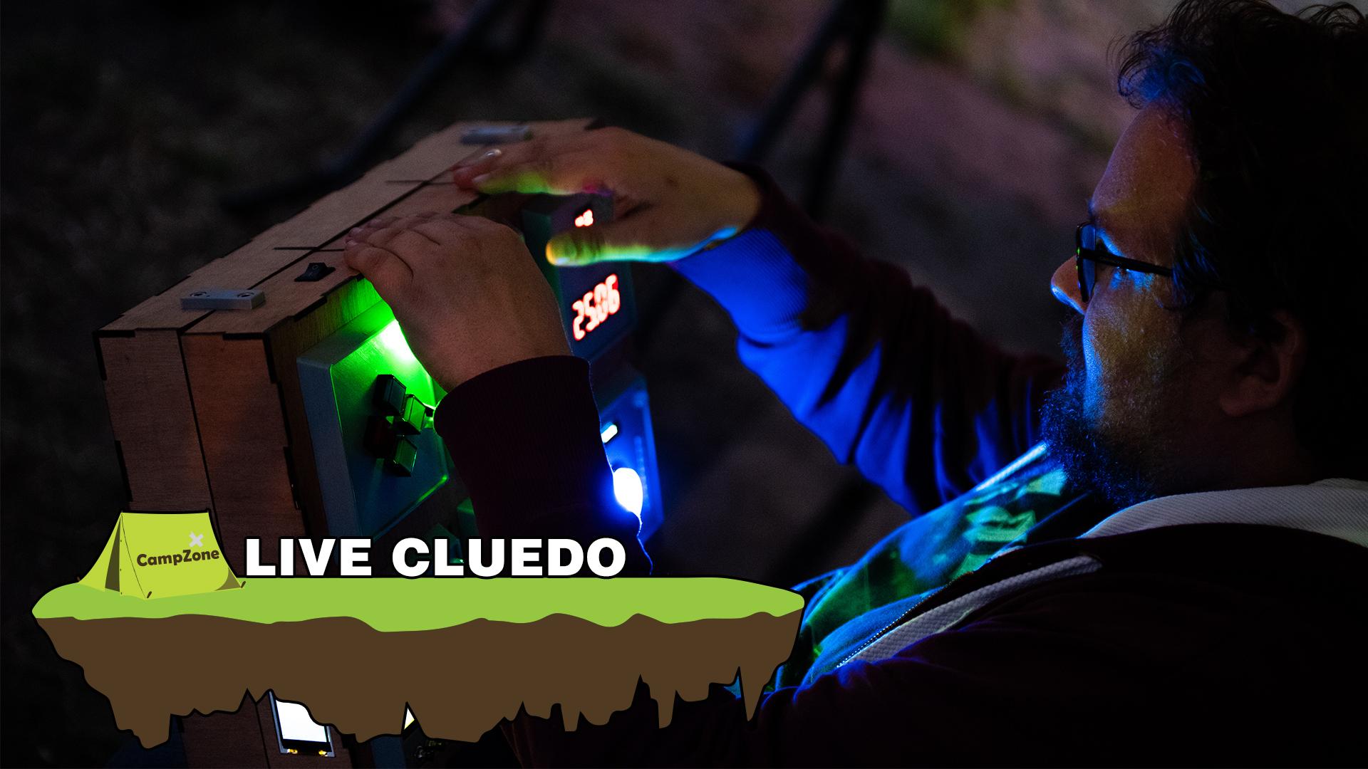 20.00 - Live Cluedo