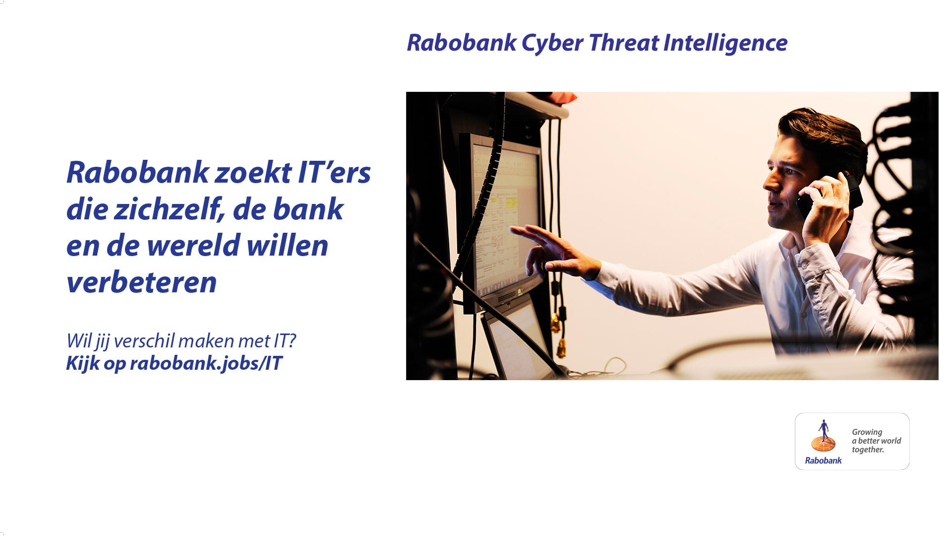 CampZone | Rabobank Cyber Threat Talk