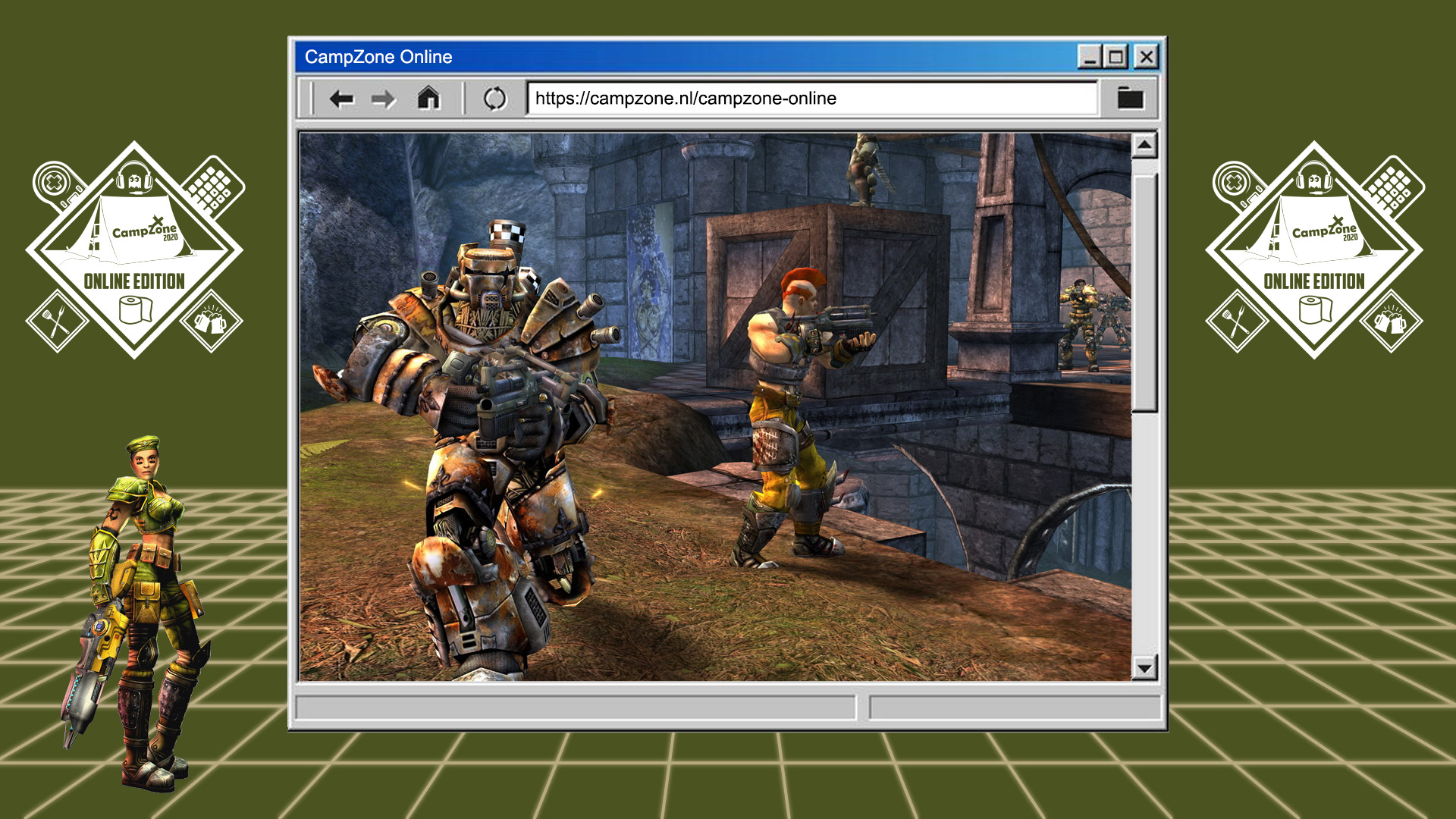13:00 - Unreal Tournament 2004 Toernooi (All Day)